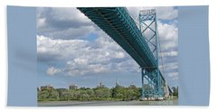 Ambassador Bridge - Windsor Approach Hand Towel