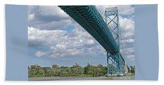 Ambassador Bridge - Windsor Approach Bath Towel