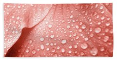 Amber Droplets Bath Towel