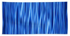 Bath Towel featuring the digital art Ambient 8 by Bruce Stanfield