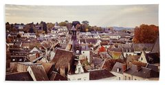 Bath Towel featuring the photograph Amboise, France by Melanie Alexandra Price