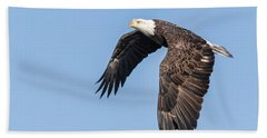 American Bald Eagle 2017-5 Bath Towel by Thomas Young