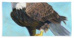 American Bald Eagle Bath Towel