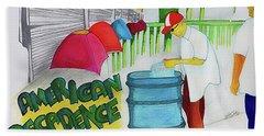 American Decadence Hand Towel