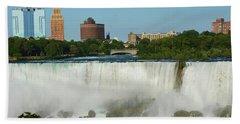 American Falls With Bridal Veil Hand Towel
