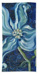 American Flowering Dogwood Hand Towel by John Keaton