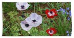 American Flowers Hand Towel