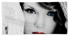 American Girl Taylor Swift Hand Towel by Brian Reaves