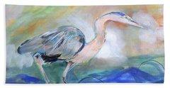 American Herons Bath Towel