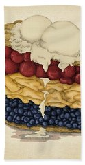 American Pie Bath Towel