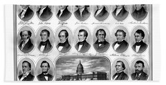 American Presidents First Hundred Years Bath Towel