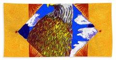 American Spirit Hand Towel by John Keaton