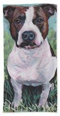 American Staffordshire Terrier Hand Towel