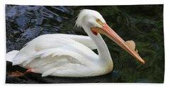 American White Pelican, Florida Hand Towel