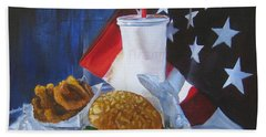 Americana Bath Towel