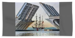 America's Tall Ship Bath Towel