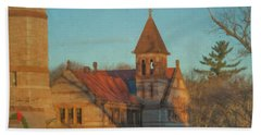 Ames Free Library At Solstice Hand Towel