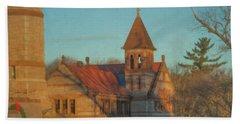 Ames Free Library At Solstice Bath Towel