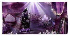 Amethyst Dreams Hand Towel