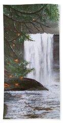 Ammonite Falls Bath Towel