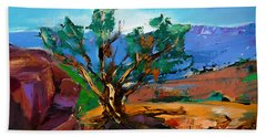 Among The Red Rocks - Sedona Hand Towel
