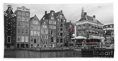 Bath Towel featuring the photograph Amsterdam by Therese Alcorn