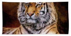 Amur Tiger Bath Towel
