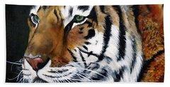 Amur Tiger  Hand Towel