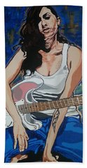 Amy Winehouse Bath Towel