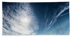 An Abstract Sky Bath Towel