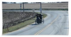 An Afternoon Buggy Ride Bath Towel