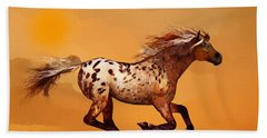 An Appaloosa Called Ginger Bath Towel