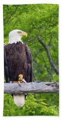 An Eagles World Hand Towel