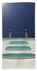 An Empty Pool Hand Towel by Stan  Magnan