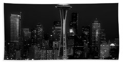 An Evening In Seattle Bath Towel by L O C