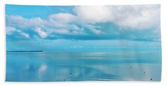 An Ocean Like Glass Hand Towel