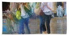 Hand Towel featuring the photograph An Odd Sharp Shower by LemonArt Photography