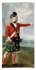 An Officer Of The Light Company Of The 73rd Highlanders Bath Towel