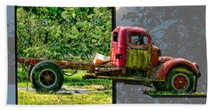 Bath Towel featuring the photograph An Old Relic by EricaMaxine  Price