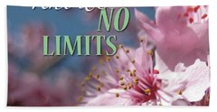 An Open Heart Knows No Limits Bath Towel