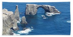 Anacapa Island Arch Rock Bath Towel