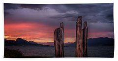 Ancestors Hand Towel by John Poon