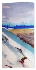 Anchorage  Hand Towel by Ed Heaton