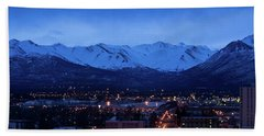 Anchorage At Sunrise Hand Towel