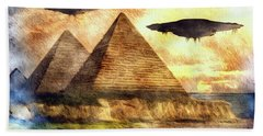 Ancient Aliens And Ancient Egypt Hand Towel