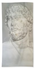 Ancient Greek Statue Bath Towel