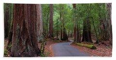 Ancient Redwoods Bath Towel
