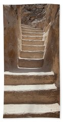 Ancient Stairs Hand Towel by Yoel Koskas