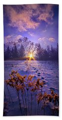 Hand Towel featuring the photograph And Back Again by Phil Koch
