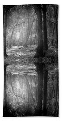 And There Is Light In This Dark Forest Hand Towel